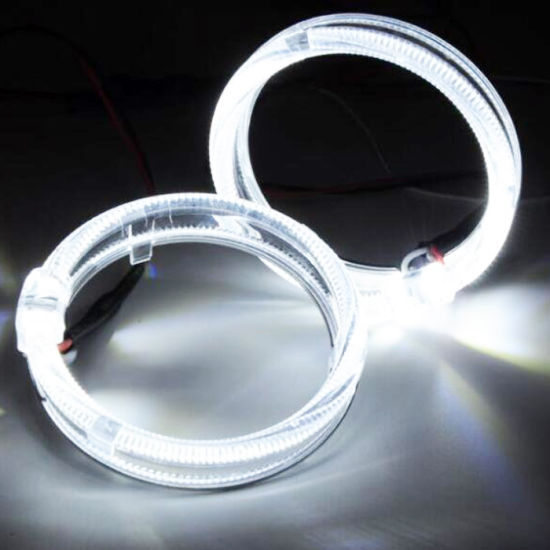 85mm Angel Eyes LED Halo Rings DC12V Single Color Angel Eye Auto Head Lamp