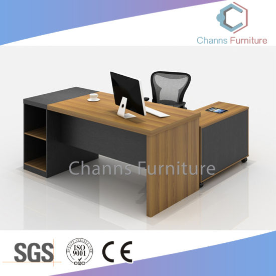 Popular Home Design Hotel Furniture Wooden Workstation Executive Table Office Desk (CAS-D41204) pictures & photos