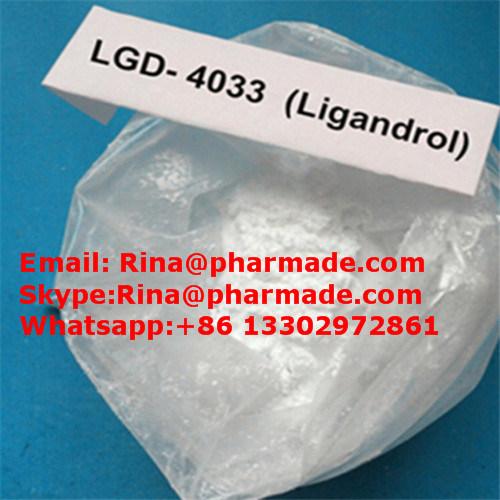 Pharma Grade Lgd-4033 Sarm Raw Ligandrol Lgd4033 Powder
