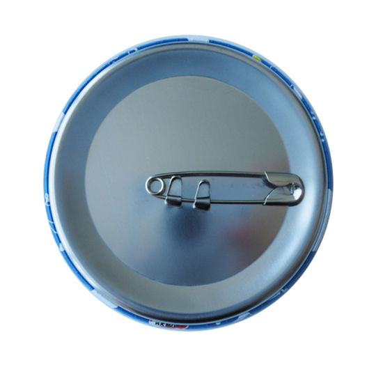 Promotion Company Logo Pin Handbags Metal Button Badges