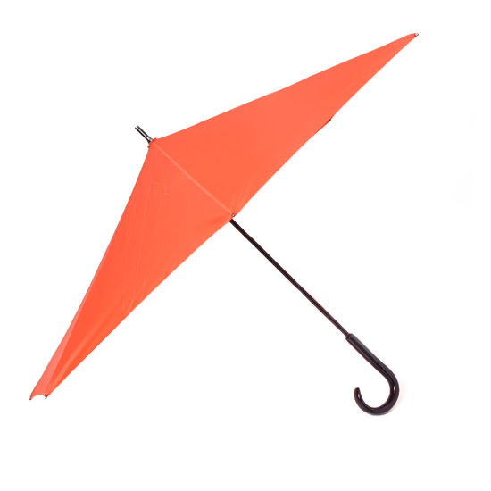 Hook Handle Straight Wholesale Reverse Umbrella with Windproof