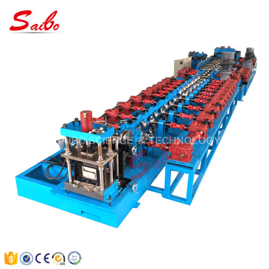 4mmx100-400mm Full Automatically Z Purlin Roll Forming Machine