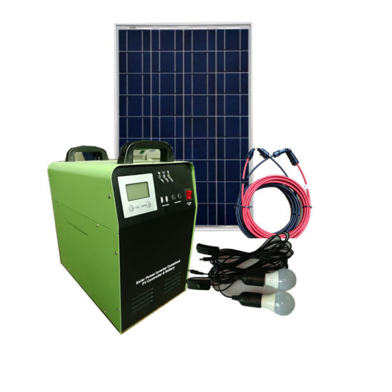 Factory Price 1500W Pure Sine Wave DC AC Solar Power System Home Use