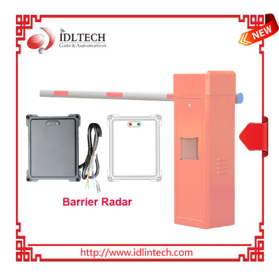 2020 New Famous Barrier Radar Sensor/Traffic Detector with Anti-Hit and Trigger Function for Parking