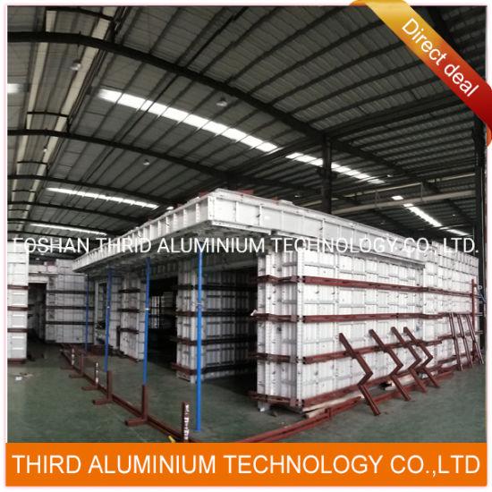Pre-Fabrication Aluminium Extruding Formwork Wall Panel Slab Panel Profile