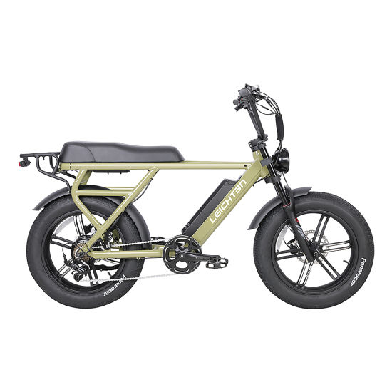 Factory Price Fat Tire Electric Motor Bike 500W 48V Electric Bicycle 20 Aluminum Alloy Frame Electric Mountain Bike