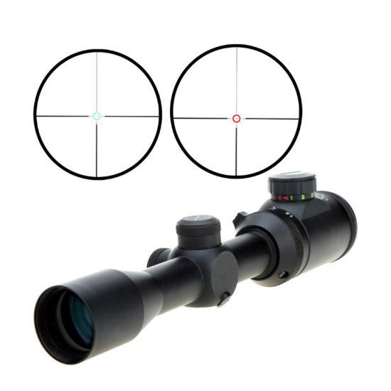 Visionking Wide Angle Waterproof Long Range Ar15 M16 Red DOT Illuminated Hunting Optical Sight (1.5-5X32)