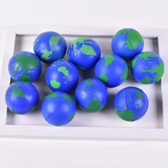 Wholesale  Gifts Custom Shape Sponge PU Foam Stress Balls