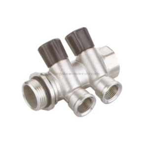 Hot Selling Brass Liner Manifold with Stop Valve