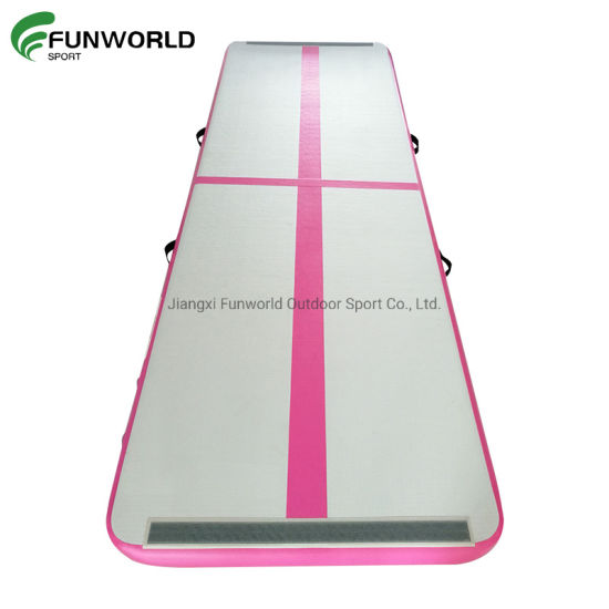 Hot Sale Gym Fitness Airtrack Inflatable Exercise Gymnastics Air Tumbling Track Mats