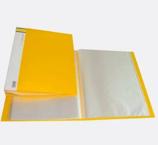 Colorful Tranparent Document Folder for A4 Size Paper (VFF3-1)