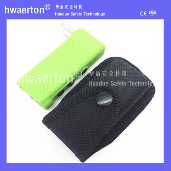 ABS Mix Color Personal Protective Warning Flashlight Stun Gun