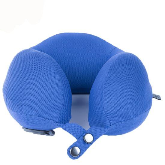 Four Color U Shape Memory Foam Travel Pillow for Office
