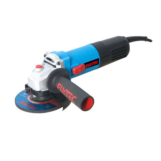 Fixtec Ce GS Approved 12000rpm 115mm Portable Electrical Angle Grinder with Slide Switch