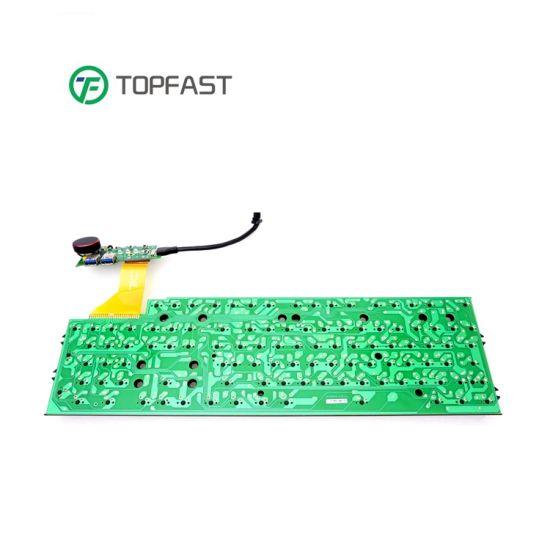 High Quality Custom Manufacturte Assembly Service in China Copper 1.6mm Keyboard PCB