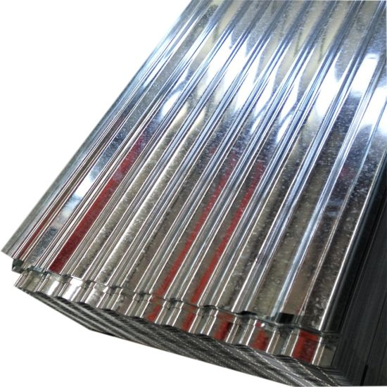 Galvanized Corrugated Metal Roofing Sheet for 18 Gauge Corrugated Steel Roofing Sheet