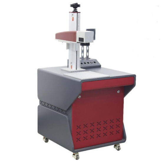 Factory Supply Fiber Laser Marking Machine with High-Precision