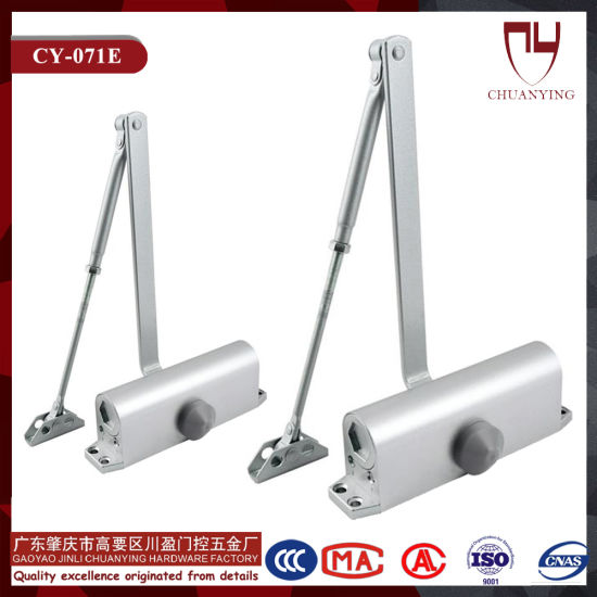 Factory Supply Hot Sale Aluminum Alloy Door Closer Suitable for All Kinds of Commercial Doors