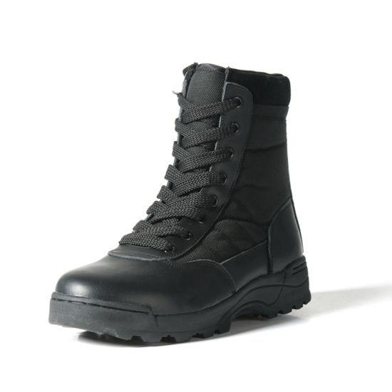 Unique Design Anti-Collision Rubber Toe Cheap Factory Military Boots Price pictures & photos