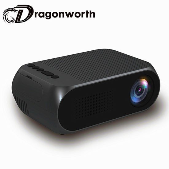 Wholesale Price Full HD 800p Support 1080P Portable Digital LED HD Projector Yg320