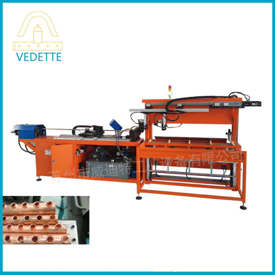 Full Automatic Loading Copper Pipe Punching Machine with Ce Certificate