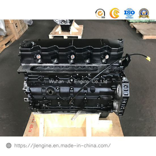 Dcec Qsb6.7 Cylinder Long Block Construction Machine Diesel Engine