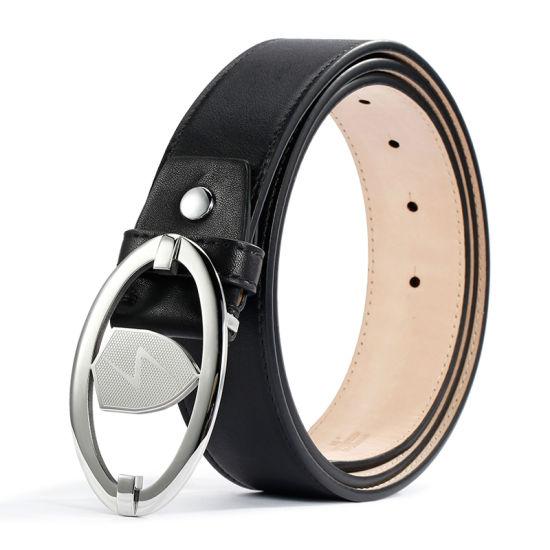 Metal Buckle Genuine Leather Waist Belt Fashion Brand Magizine Belts