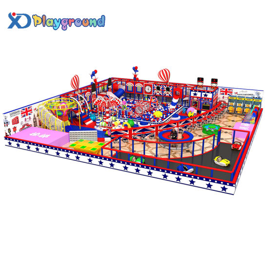 Commercial Amusement Park Indoor Soft Play Equipment Playground