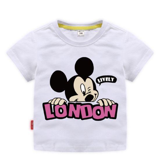 Big Ear Mickey Summer Children's Fashion Trend Short-Sleeved Apparel