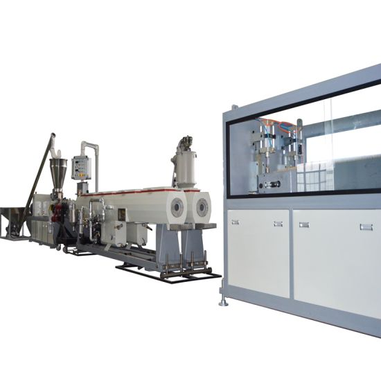 160mm Plastic Dual /Double Cavities PVC Pipe Extrusion Line