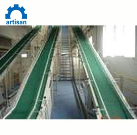 PVC Rubber Belt Conveyor for Bottle/Carton Injection Moulding Machine