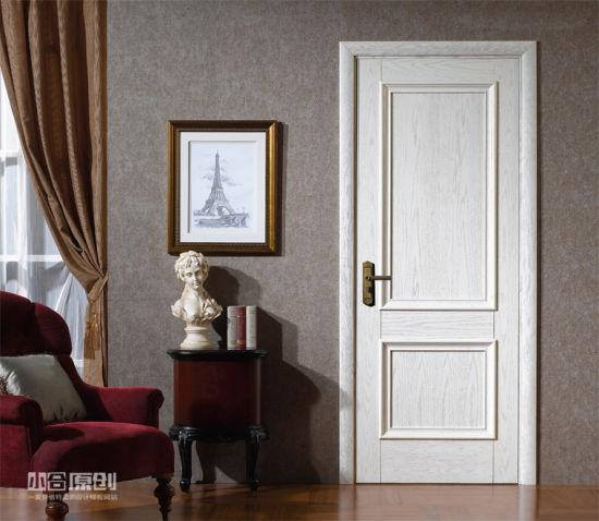40mm Thick Latest Design PVC Wooden Door Interior Door Room Door