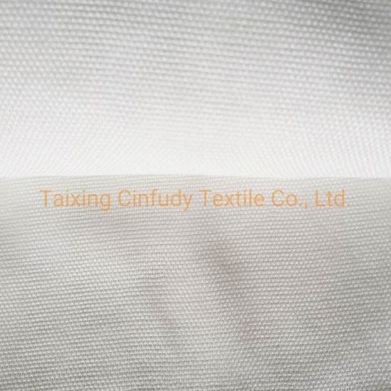 022 White Cloth Seamless Scrim Osnaburg Polyester Cotton Fabric Textile