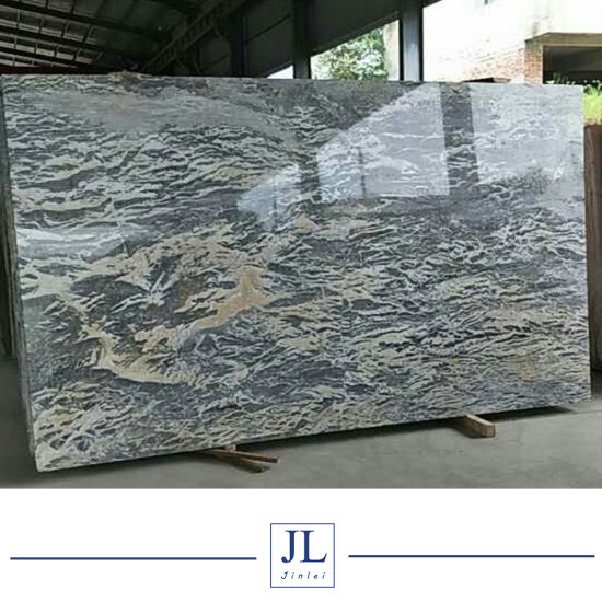 China Perth Blue Grey Marble Polished Tilesslabscountertop Wall