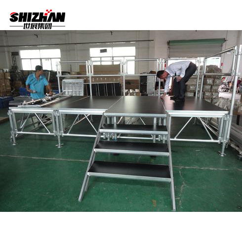 Movable Wooden Wedding Stage Backdrop Stand
