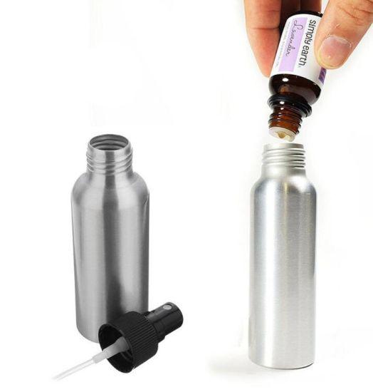 6d227f3e2105 China 100ml Aluminum Perfume Bottle with Spray Mini Portable Empty ...