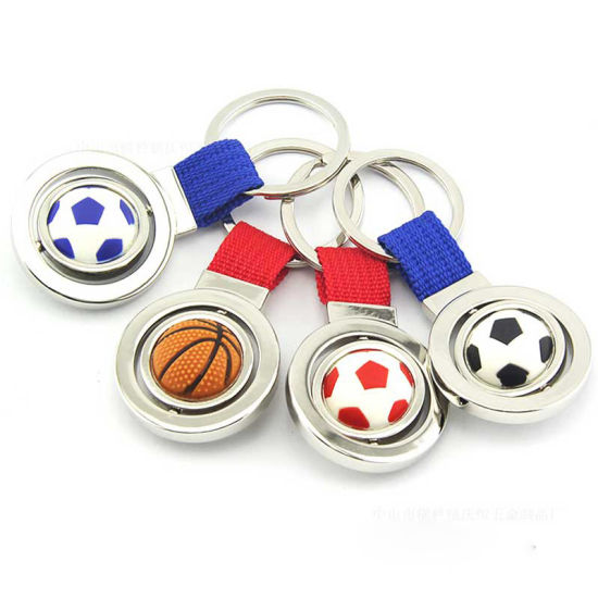Promotional Gift- Souvenirs Football Metal Keychain