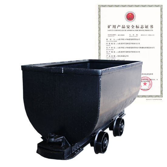 Coal Mine Wagon Fixed Mine Cart for Sale
