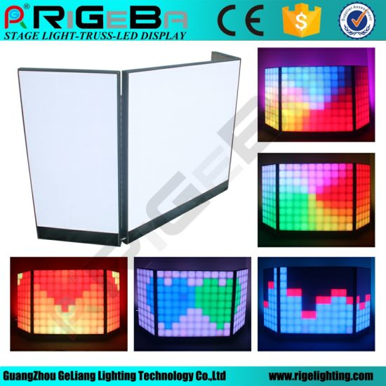 DJ Light LED Digital DJ Booth Counter pictures & photos