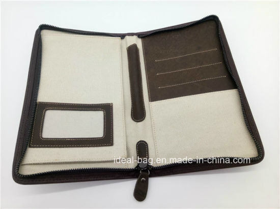 China crazy horse genuine leather travel passport holder wallet men crazy horse genuine leather travel passport holder wallet men business credit card holder zipper clutch purse wallet with pen holder colourmoves
