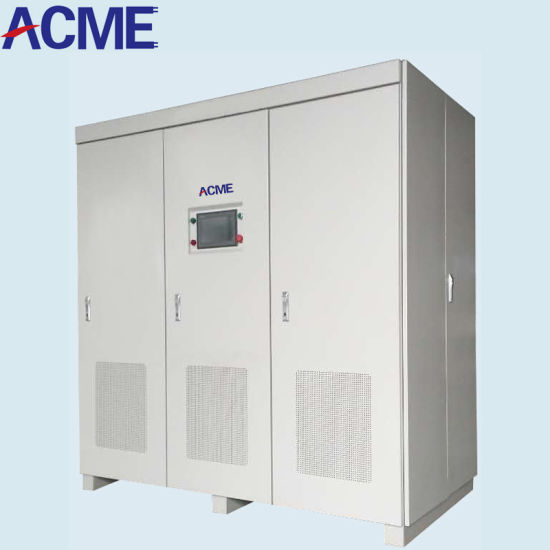 30kVA 45kVA 60kVA 90kVA 120kVA 180kVA 200kVA 300kVA 400kav 600kVA 800kav 1000kVA 50Hz 60Hz 400Hz Static Frequency Converter AC DC Power Source