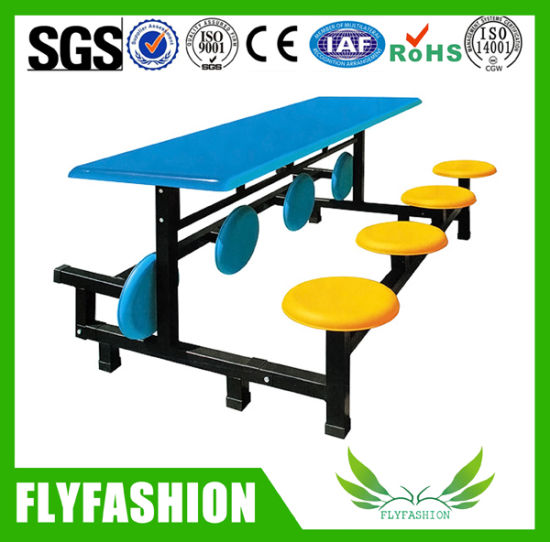 Foldable Canteen Dining Table Set For 8 People (DT 12)