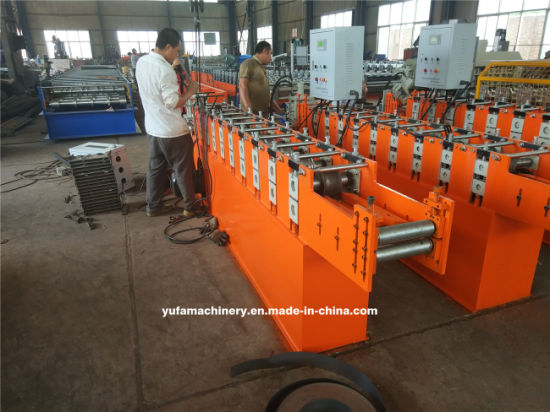 China Light Steel V Channel Angle Iron Roll Forming Machine