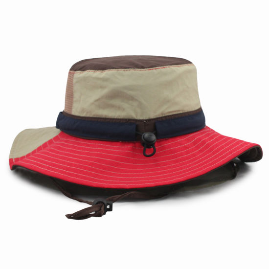 Plain Custom Bucket Hat Wholesale with Toggle and String pictures   photos d47ef3a8596