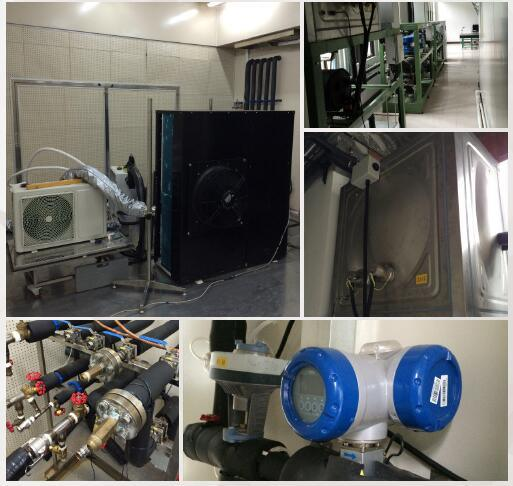 Heat Pump Water Heater Performance Test Room