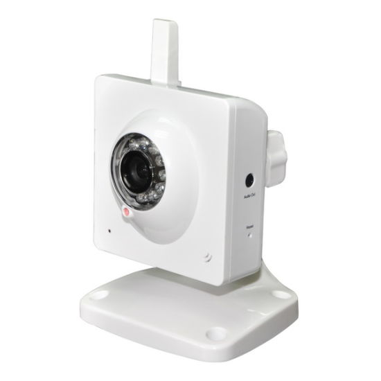 WiFi IP Camera with Cube Case Support Nightvision (FM-011B-WAR)