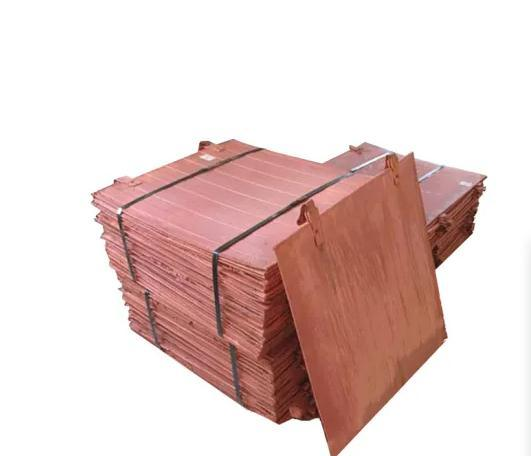 High Quality and Purity99.99% Copper Plate /99.99% Copper Cathode