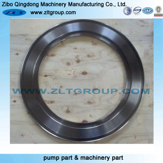 Mining Chemical Induatry Centrifugal Pump Stainless Steel Machinery Spare Parts Forging End Cover pictures & photos
