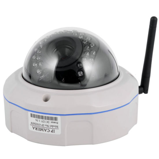 Full HD Security Vandal Proof Onvif H. 264 Full HD 1080P CMOS IR Night Version Indoor Dome IP Camera pictures & photos