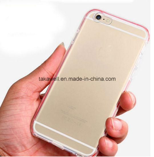 china cheap customize transparent tpu led light phone case for